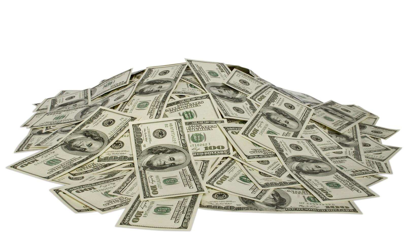 Pile of US Dollars