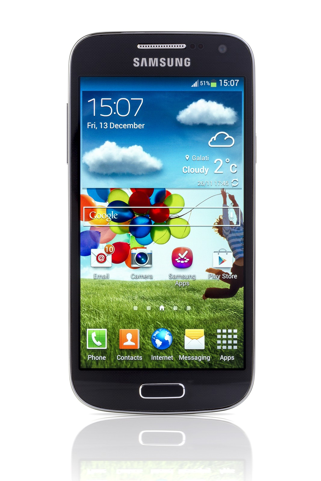 Samsung Android smartphone