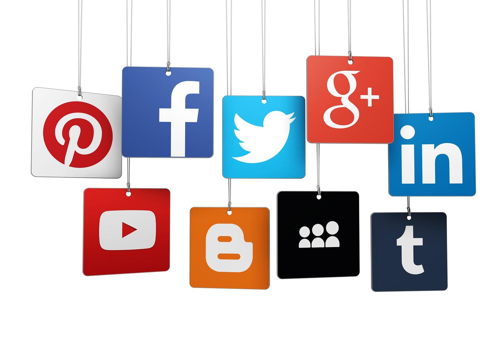 Logos of Social Media Networks