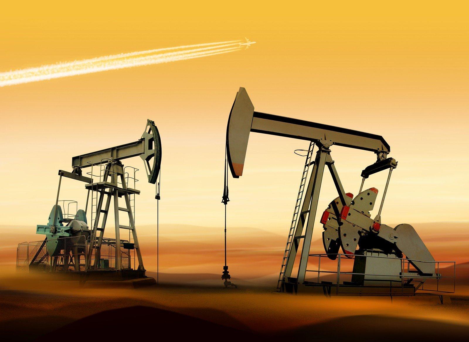 Фото нефть пейзаж 2