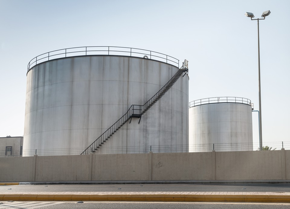 Crude Storage Tanks Saudi Arabia