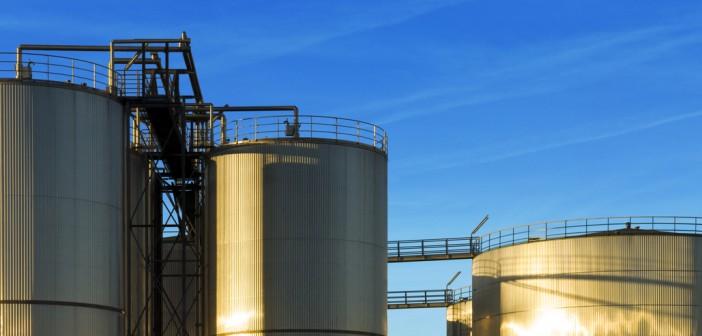 industrial plant silos
