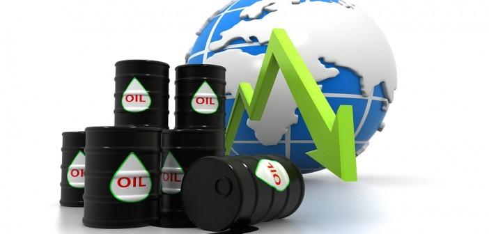 Oil Crash Graphic