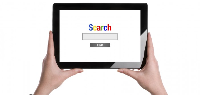 search on tablet