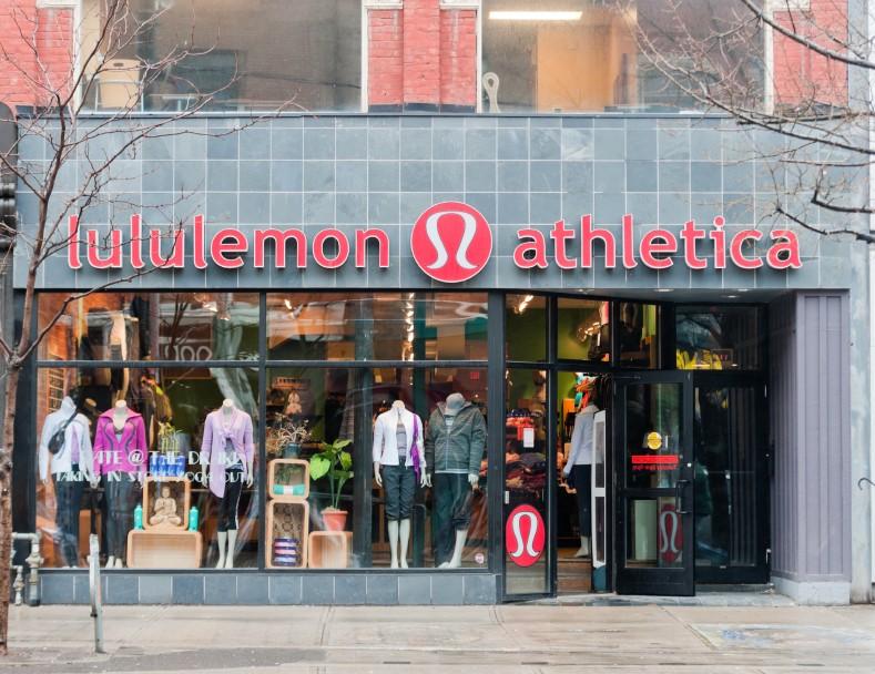 Lululemon Athletica Store Canada