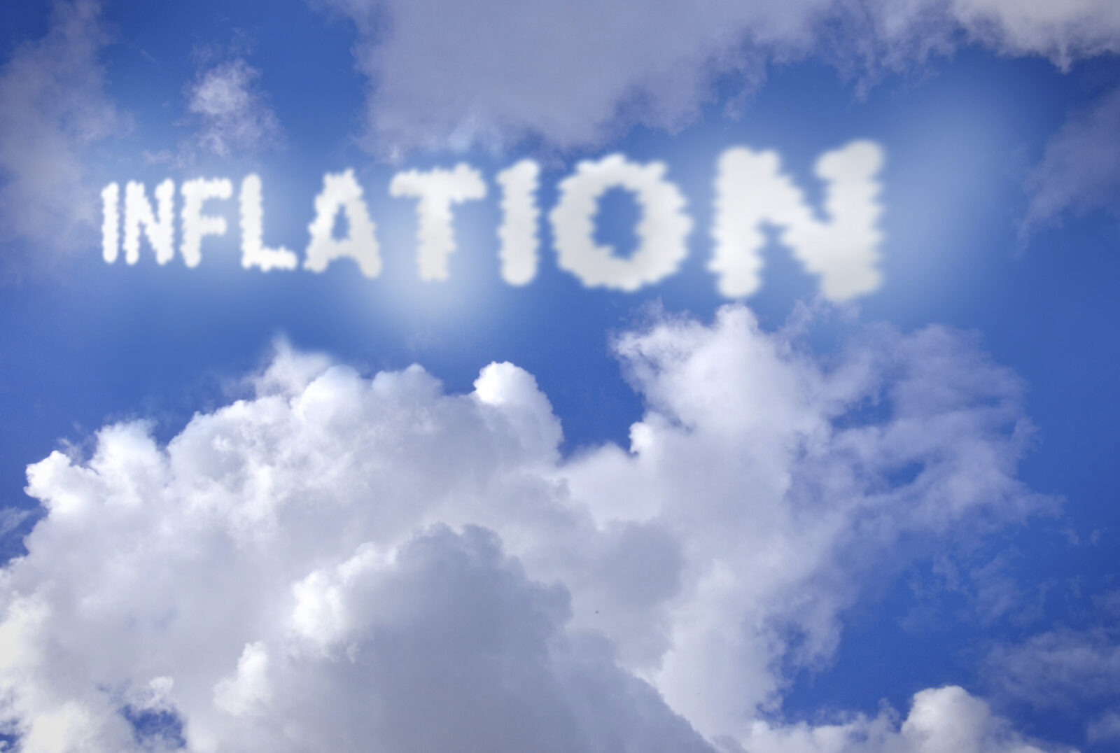 inflation text clouds