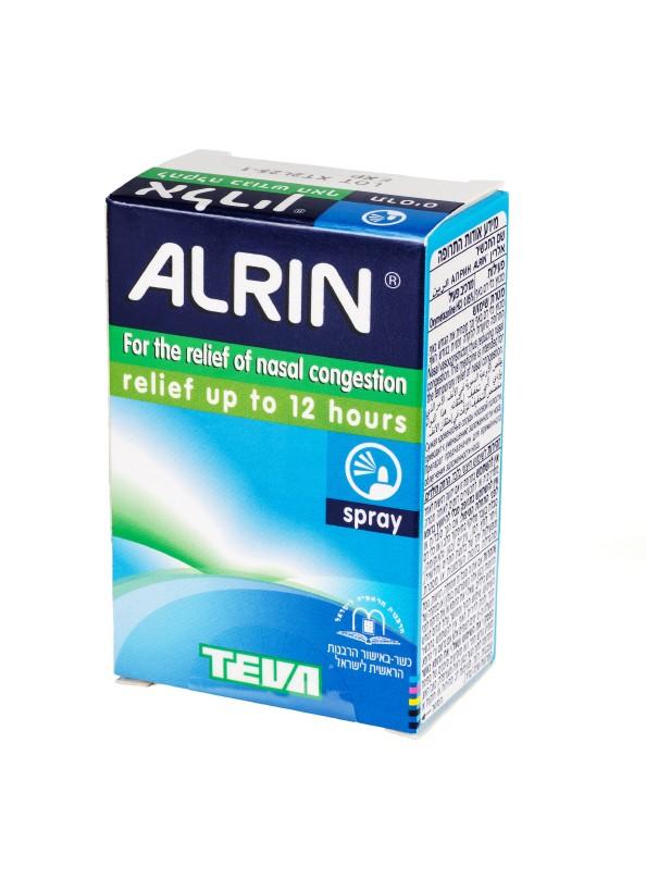 Alrin Nasal relief spray
