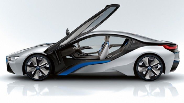 BMW i8 Electric Vehicle