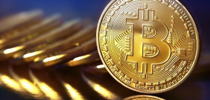 close up of bit coins