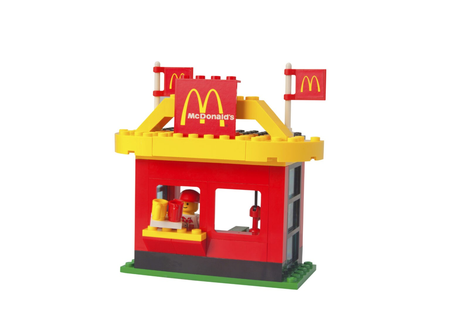 McDonalds Drive Thru Lego