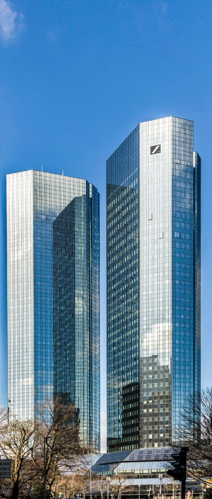 Deutsche Bank-Greentowers in Frankfurt