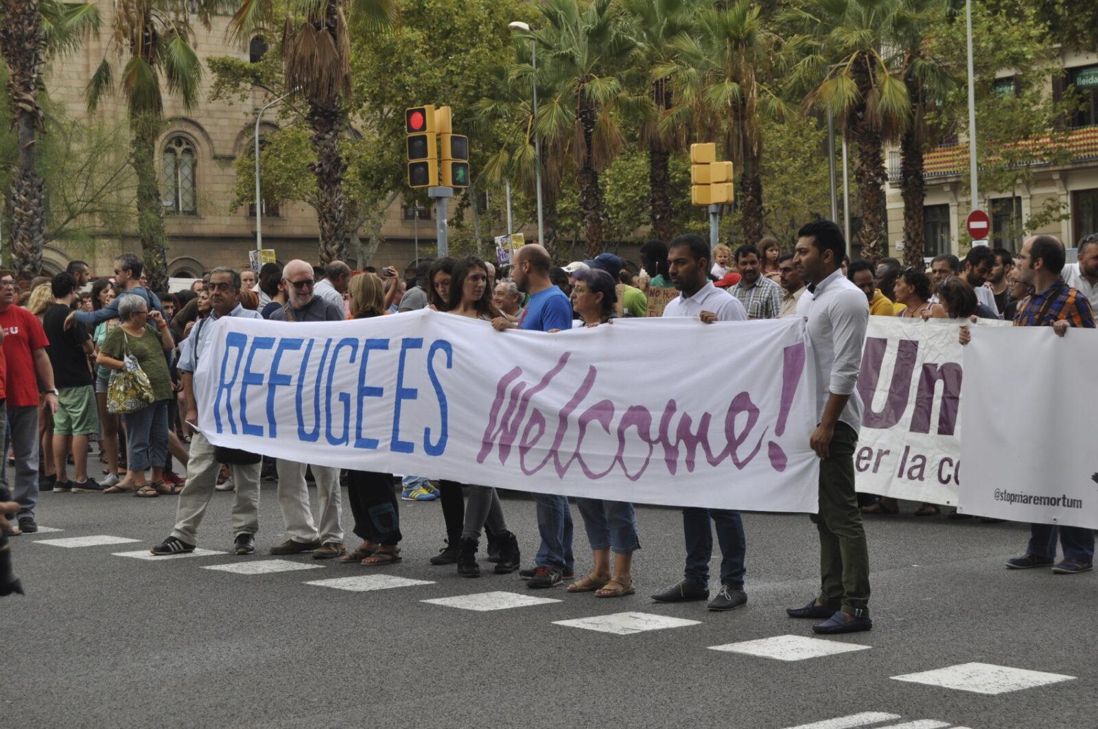 Refugee Demonstration