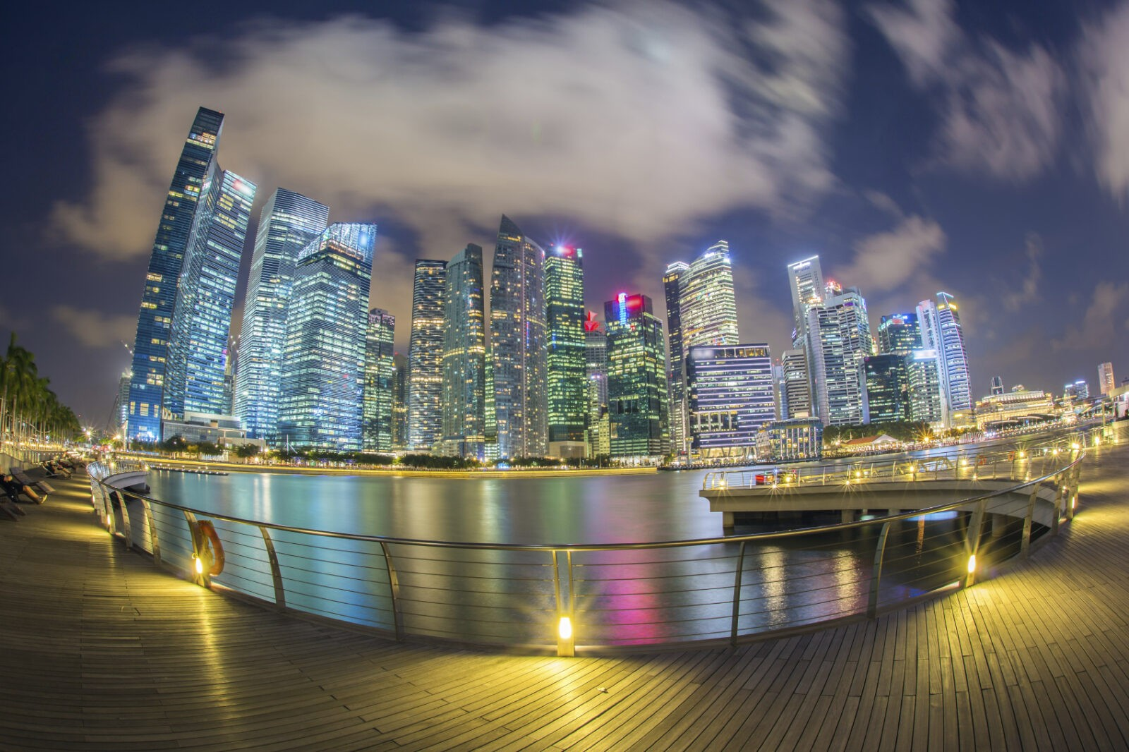 singapore financiial district