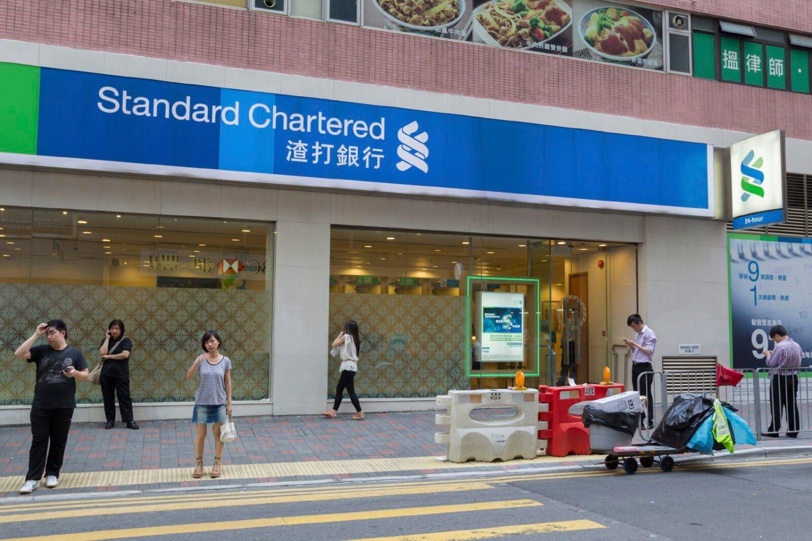 Stard Chartered in Hong Kong