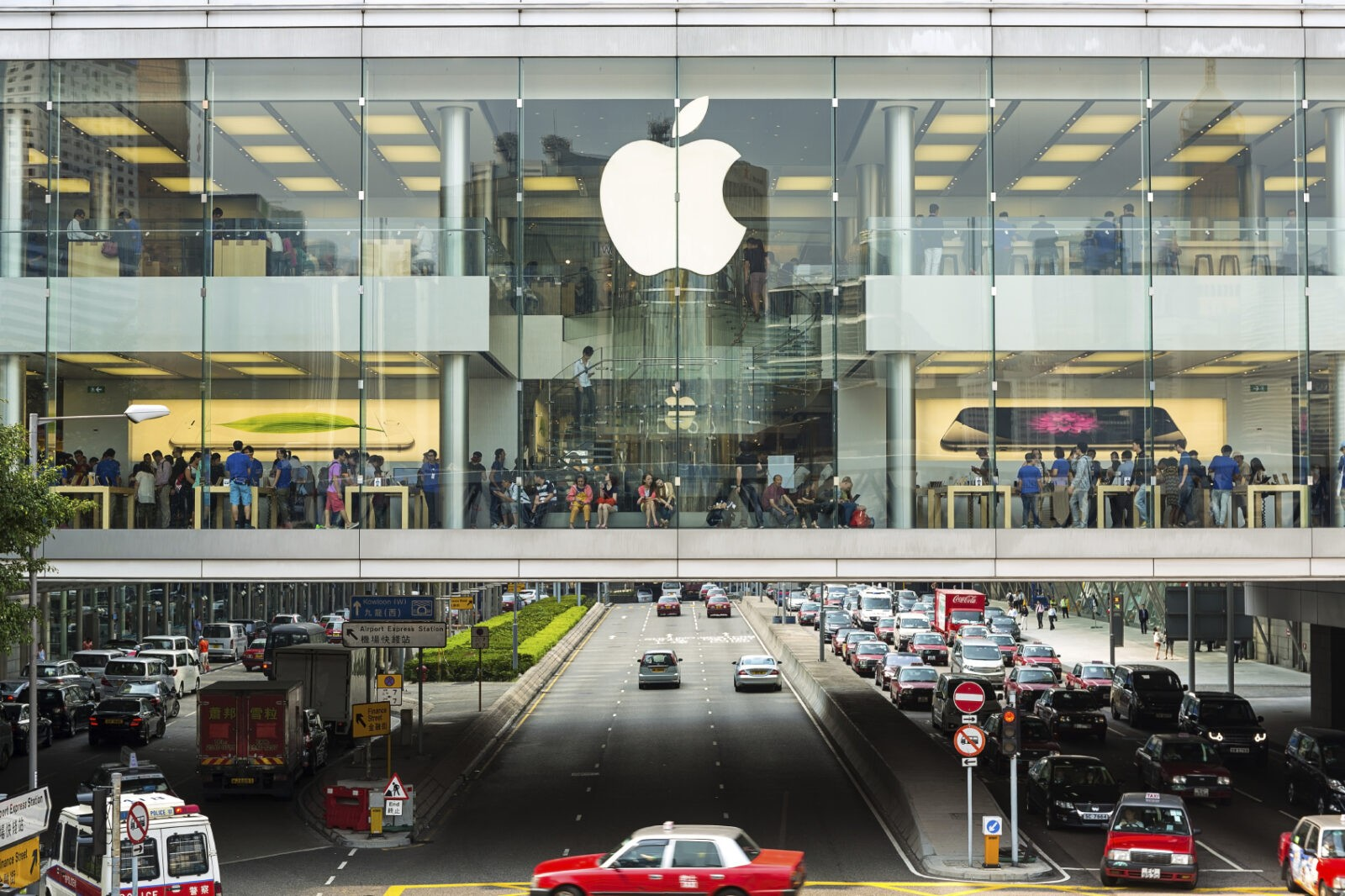 Apple Store IFC Mall Hong Kong