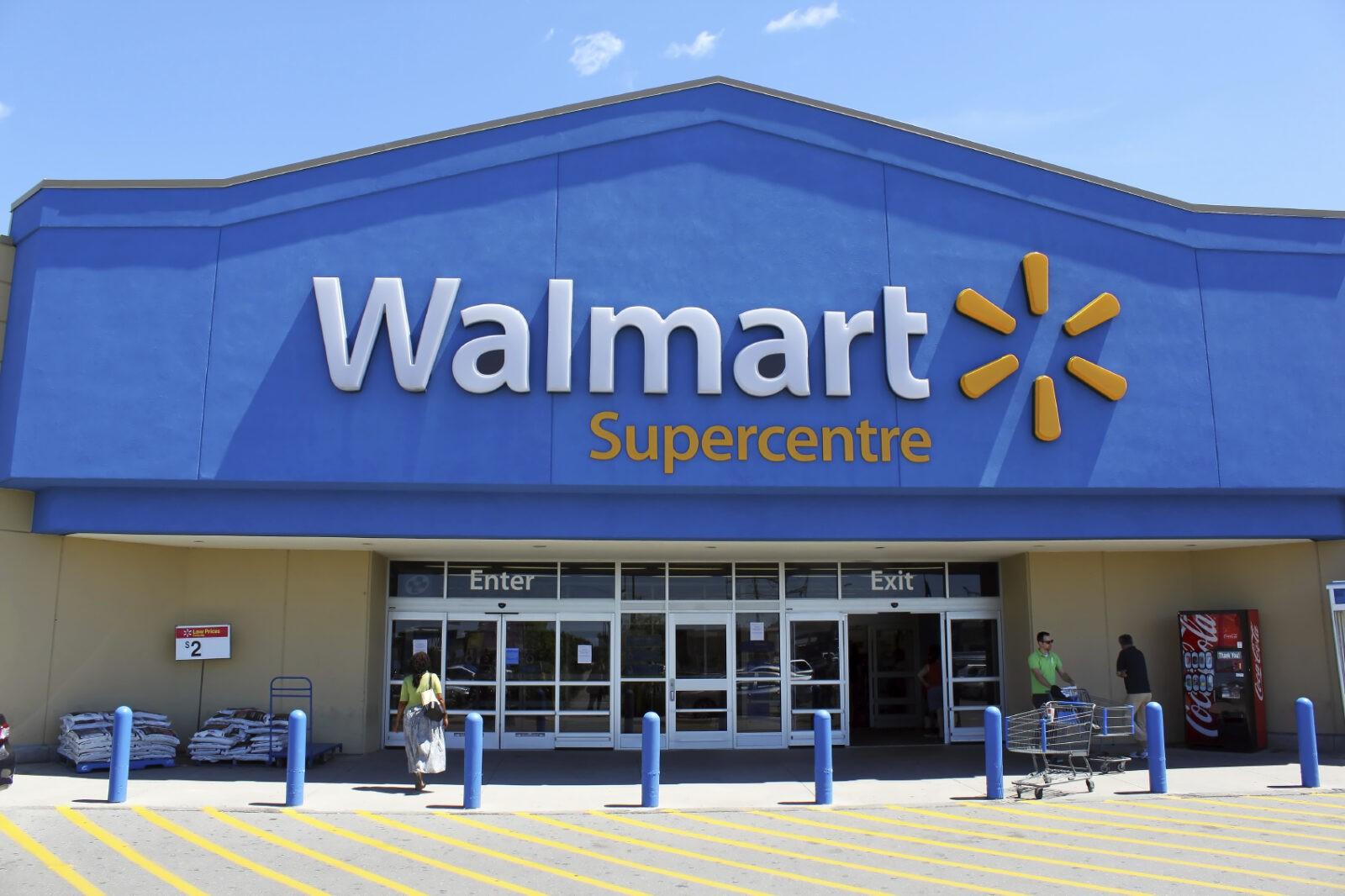 Walmart Supercentre storefront