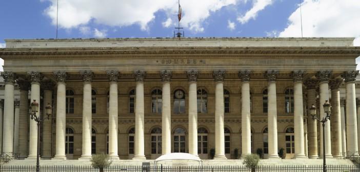 France - Paris - stock exchange building