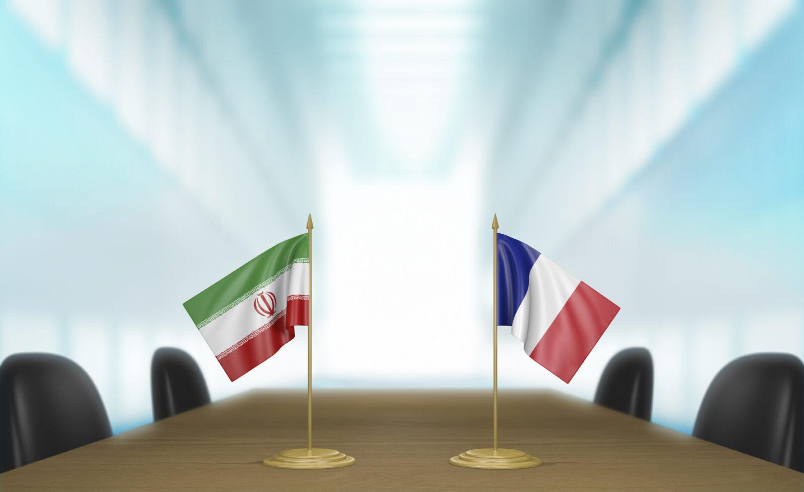 iran and france trade talks