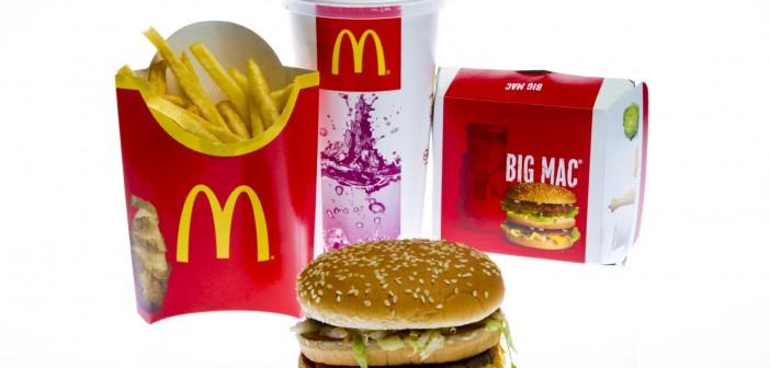 McDonald's Big Mac Menu