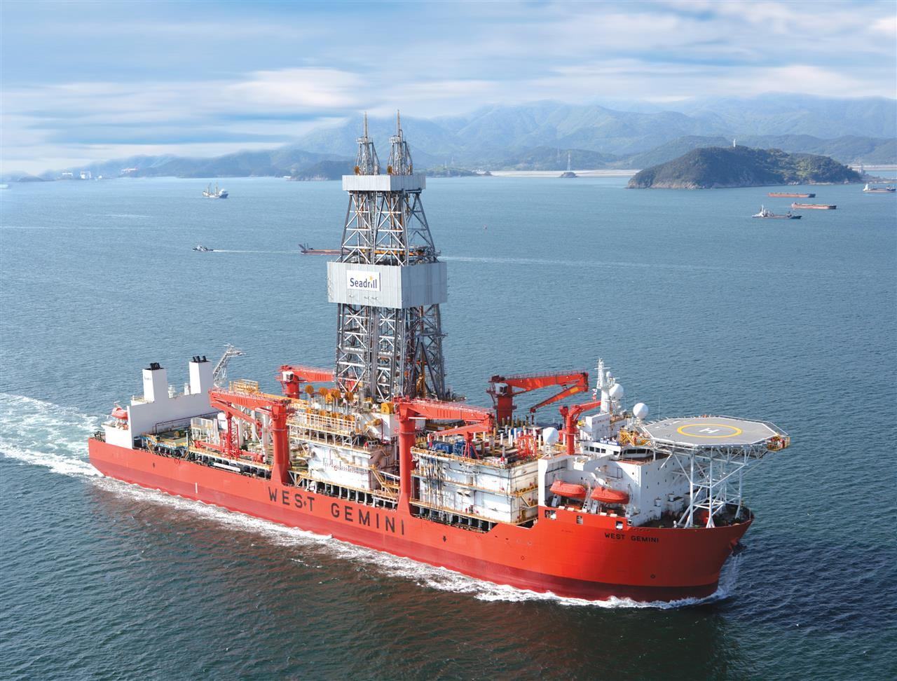 seadrill offshore rig