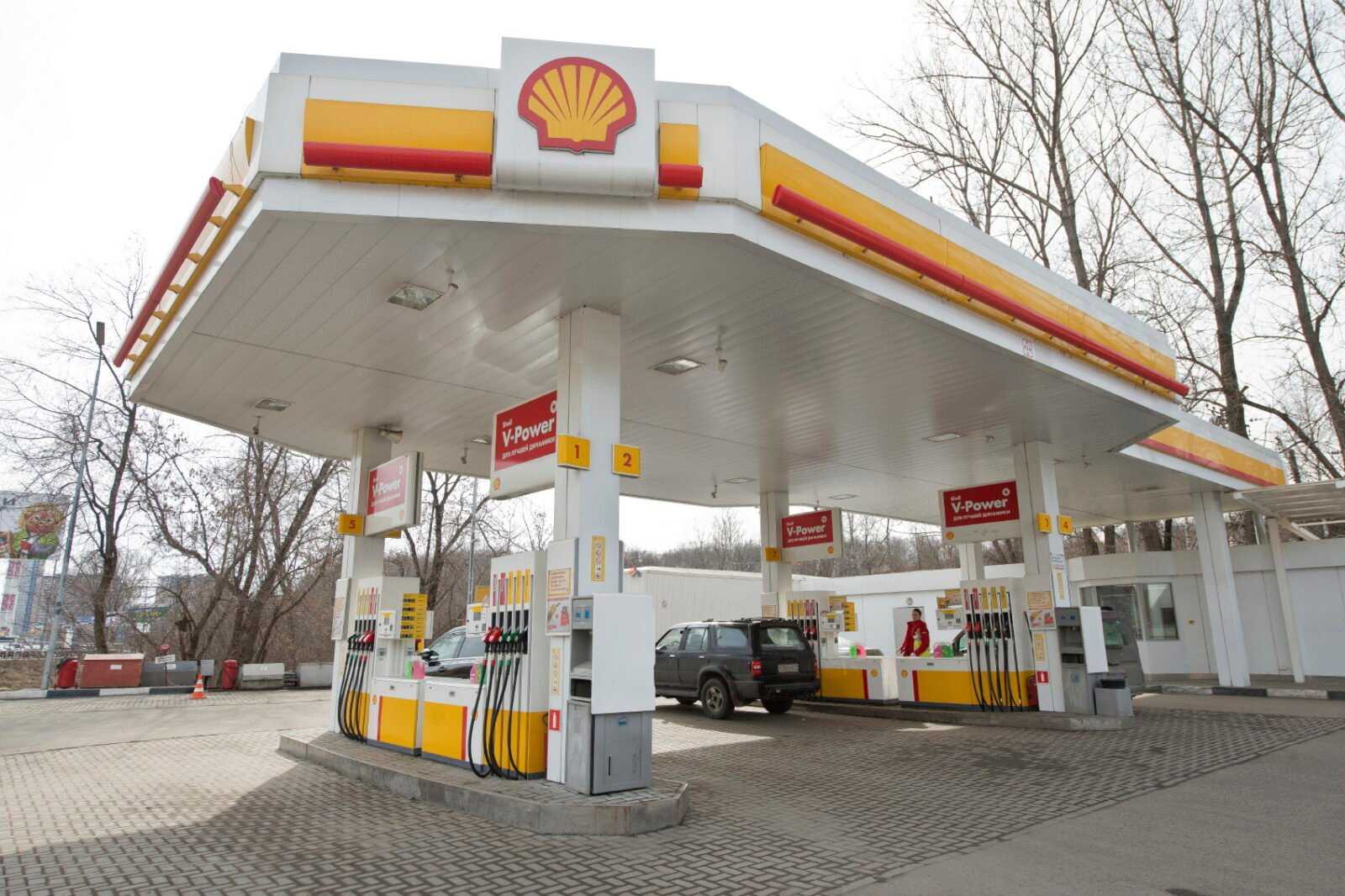 shell petrol station