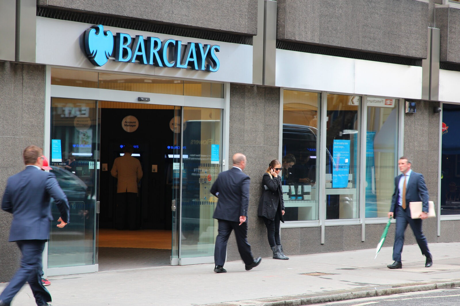 london branch of barclays bank