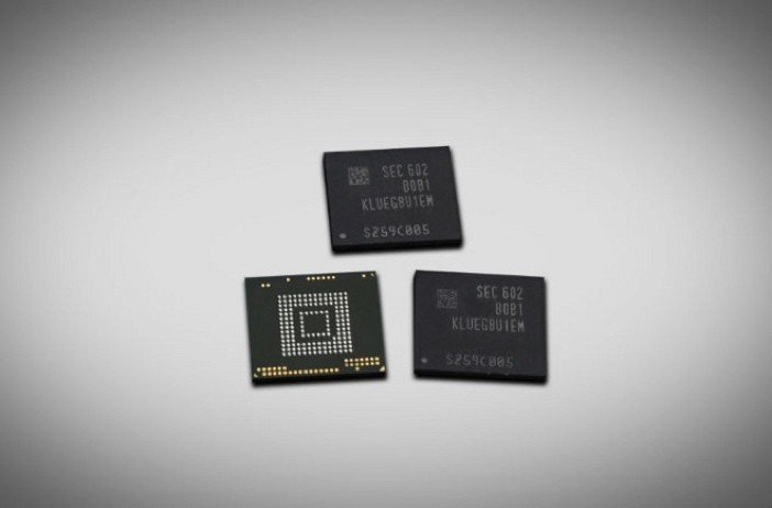 Samsung 256GB Memory Chips