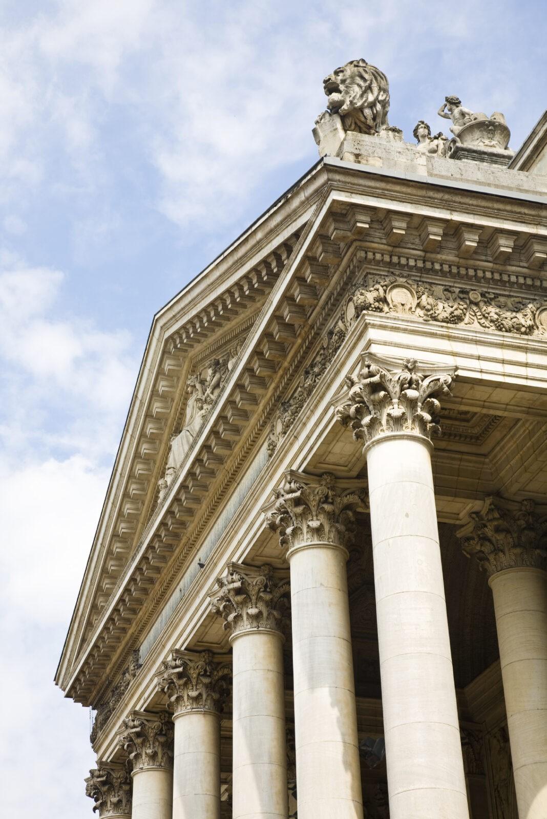 Brussels Stock Exchange building