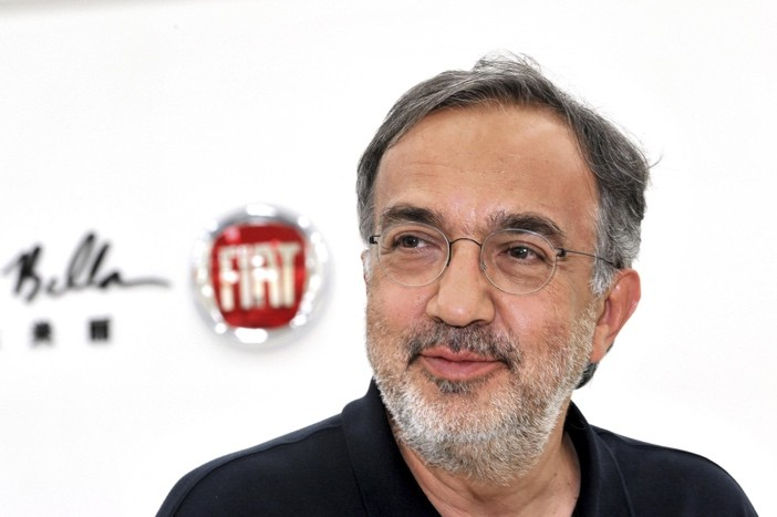 Sergio Marchionne CEO Fiat Chrysler