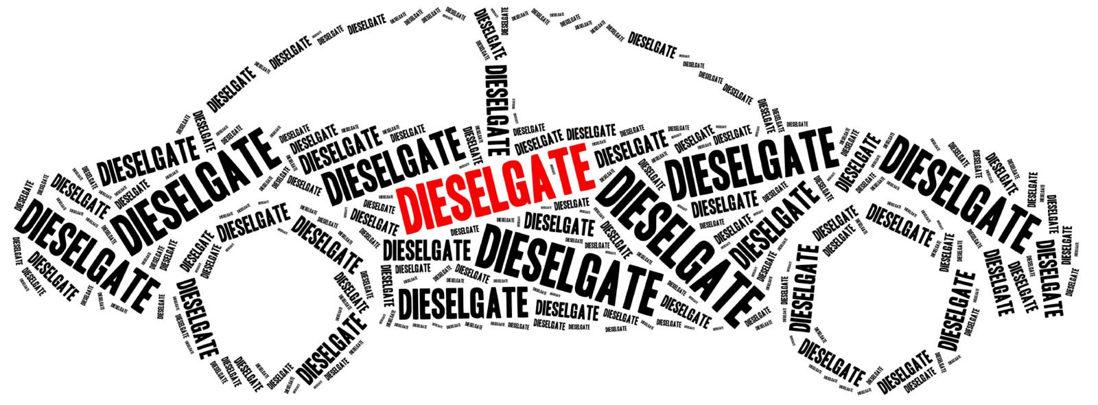 VW Diesel scandal. Concept related to cheating in pollution emission tests