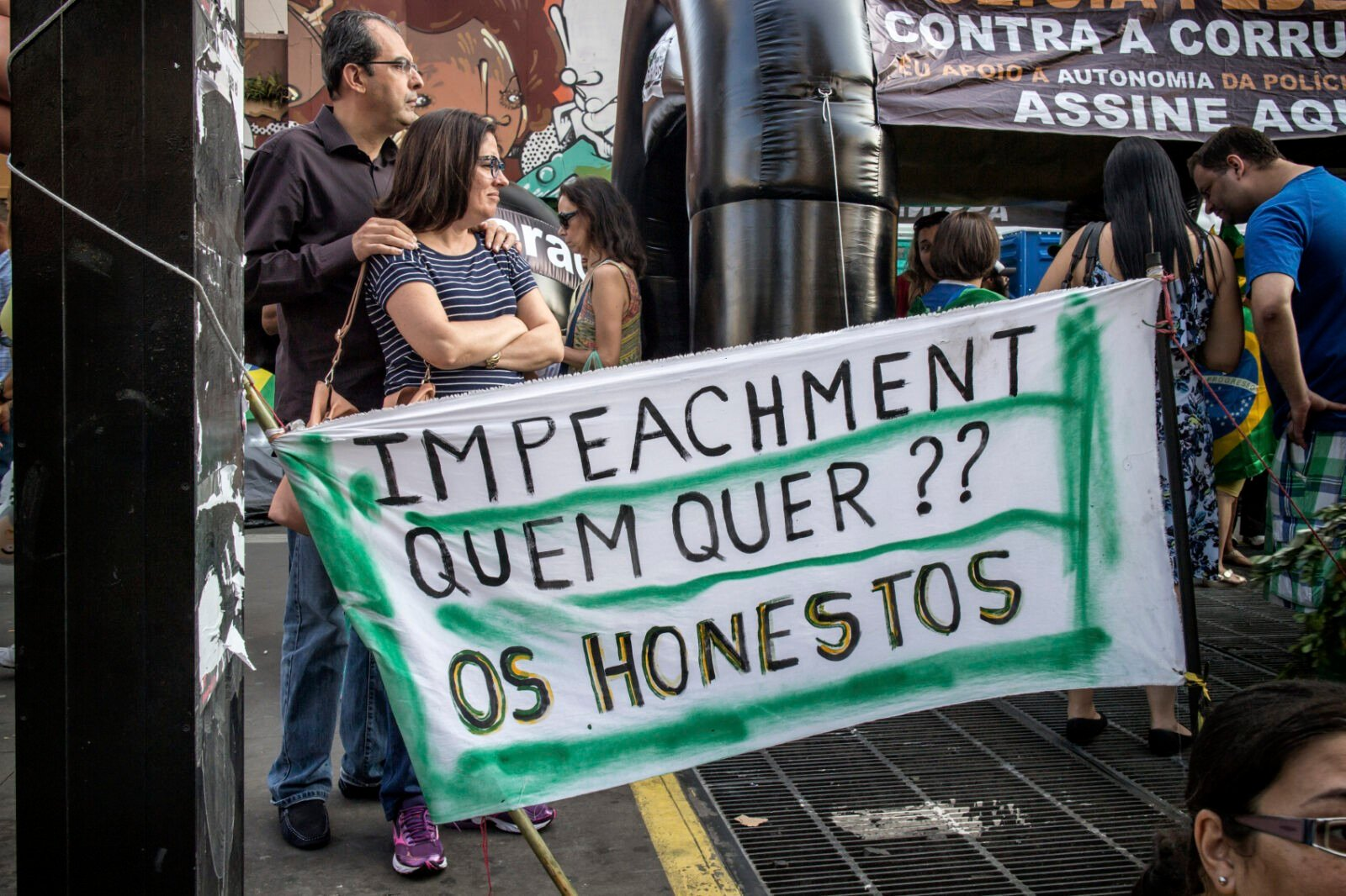 anti corruption protest brazil