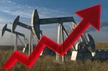 oil wells price of oil rising