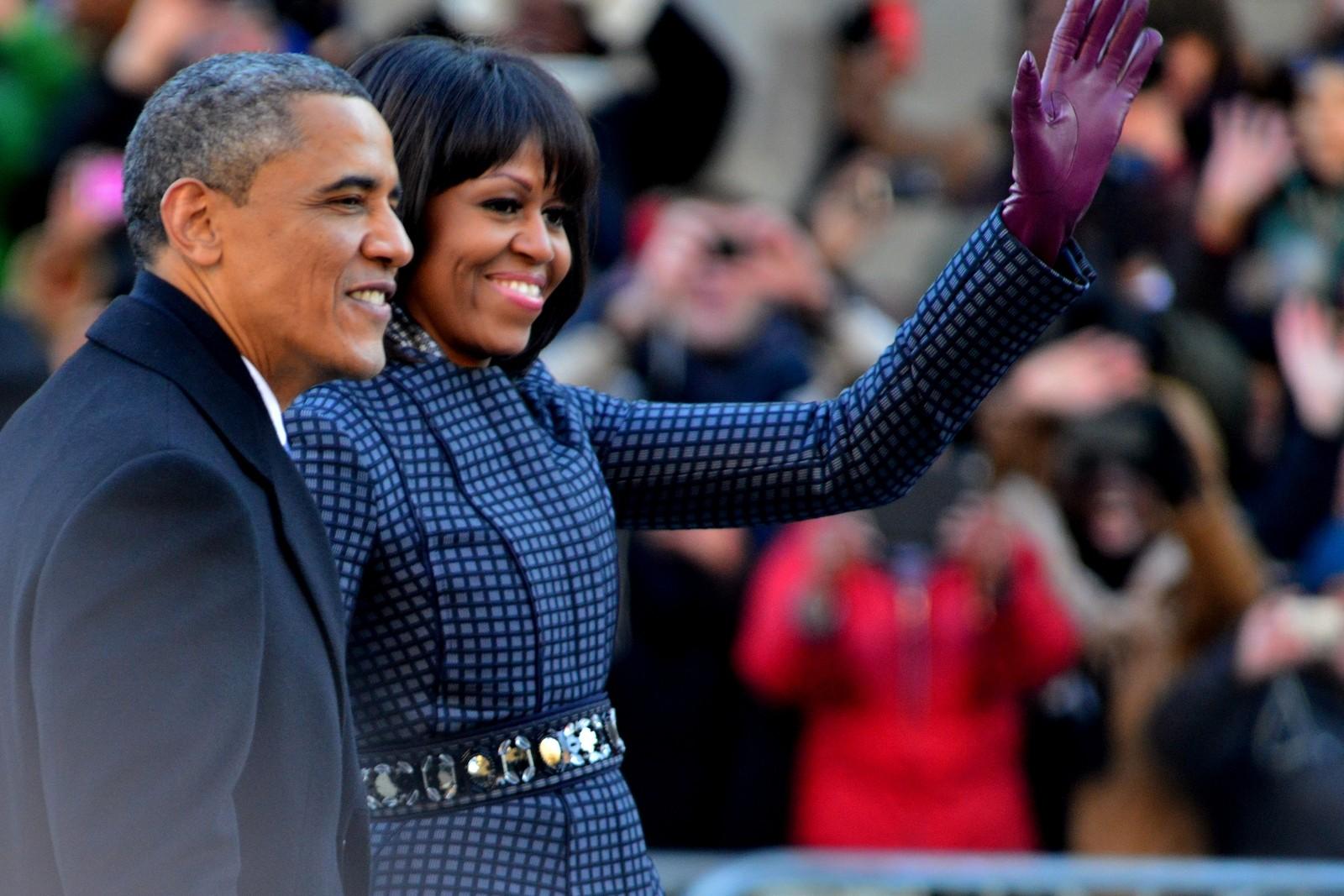 U.S. President Barack Obama - Michelle Obama - 2013 Presidential