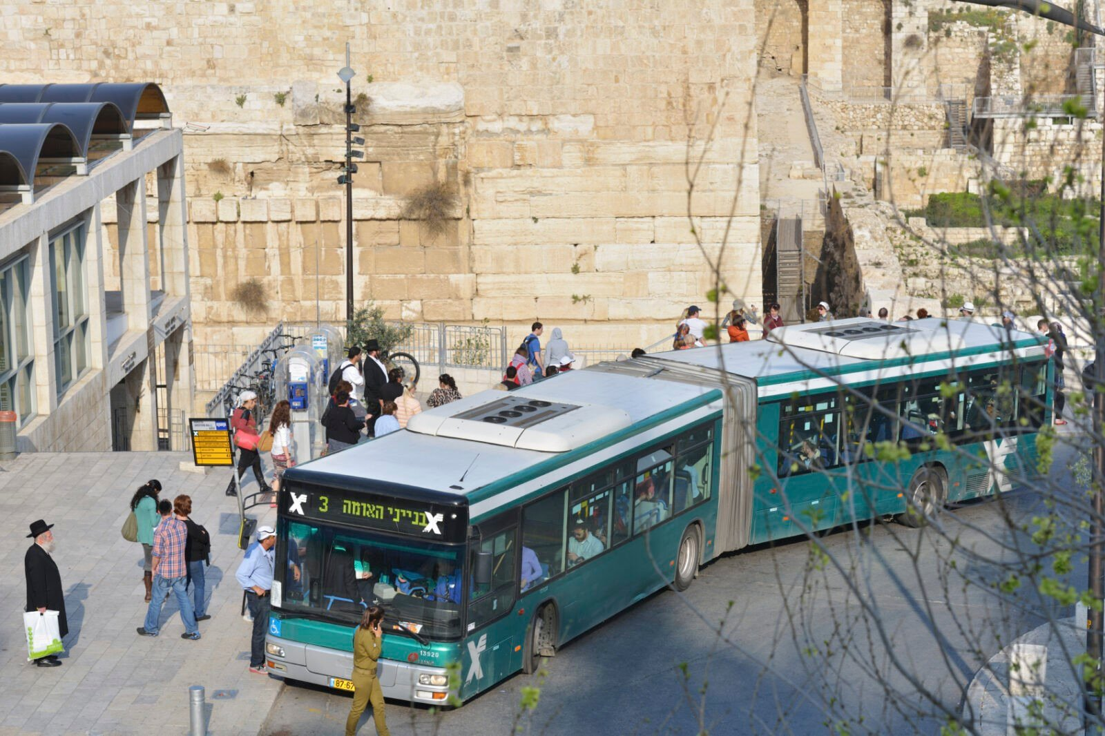 Public transport in Jerusalem, Israel
