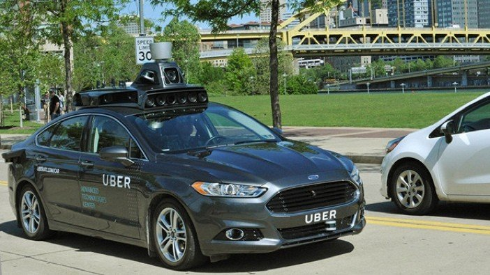 Uber Self-Driving Car Pittsburgh