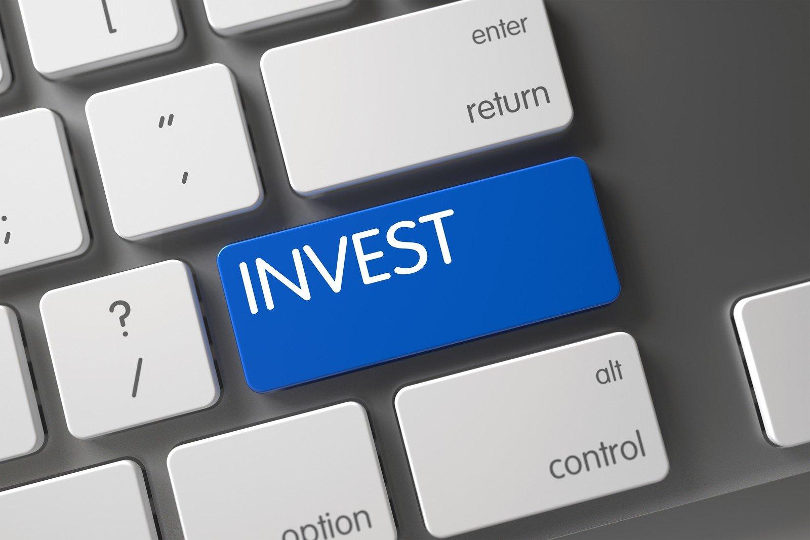 invest button