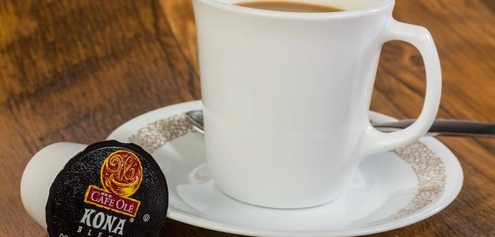 Blended Kona Coffee In K-cup