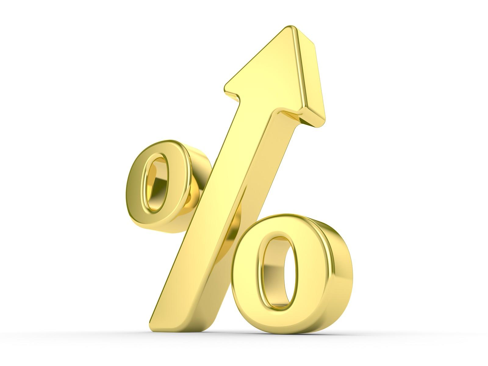 Gold Percentage Symbol