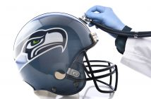 Seattle Seahawks Football Helmet w